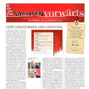 SachsenVorwärts Dezember 2013